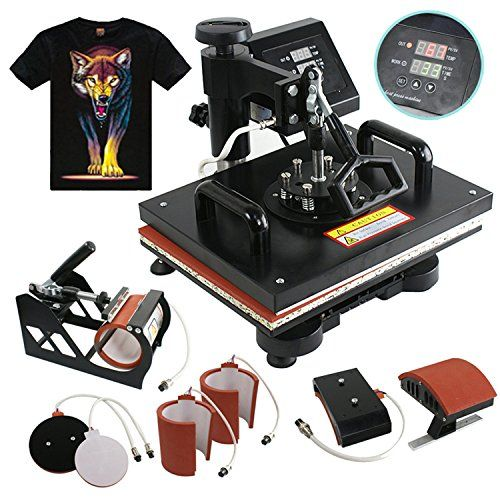 Price Tracking For F2c 6 In 1 Combo Heat Press T Shirt Hat Cap Mug Digital Transfer Sublimation Machine 6 In 1 Price History Chart And Drop Alerts For Amaz Canecas