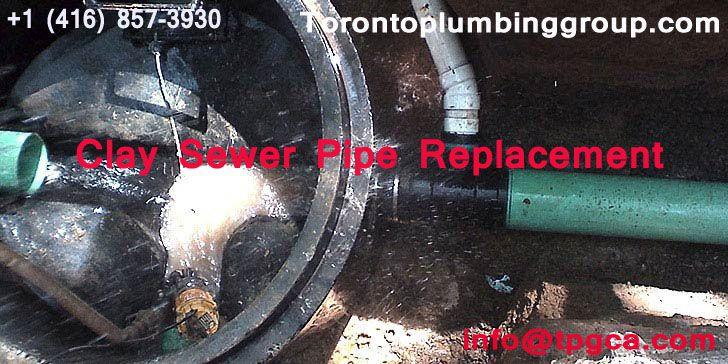 Drain Repair Toronto | Clay Sewer Pipe Replacement | Drain repair