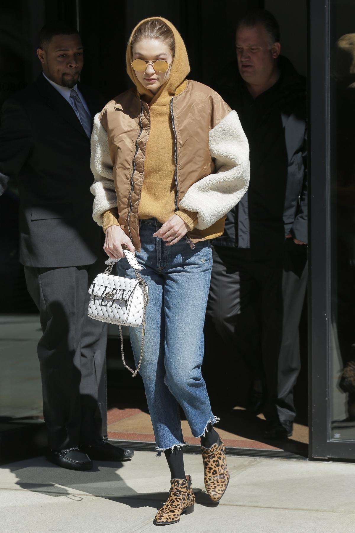 1d3b5b19a0b Gigi Hadid wearing Linda Farrow 427 C1 Sunglasses