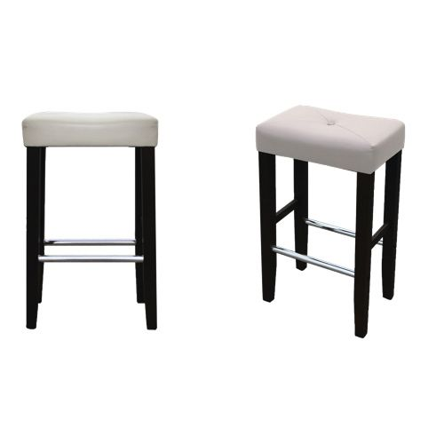 Jr Home Collection Barcelona Bar Stools 2 Pack Cream Black Online Only