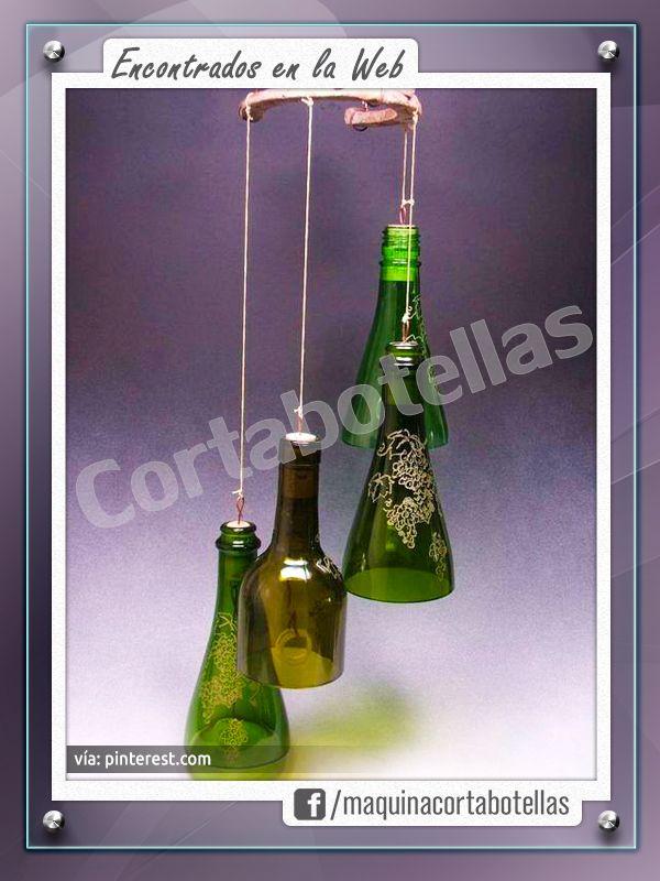 Inspiración Cortabotellas <3 Conseguilo en www.cortabotellas.com #cortabotellas #maquinacortabotellas #ideasconbotellas