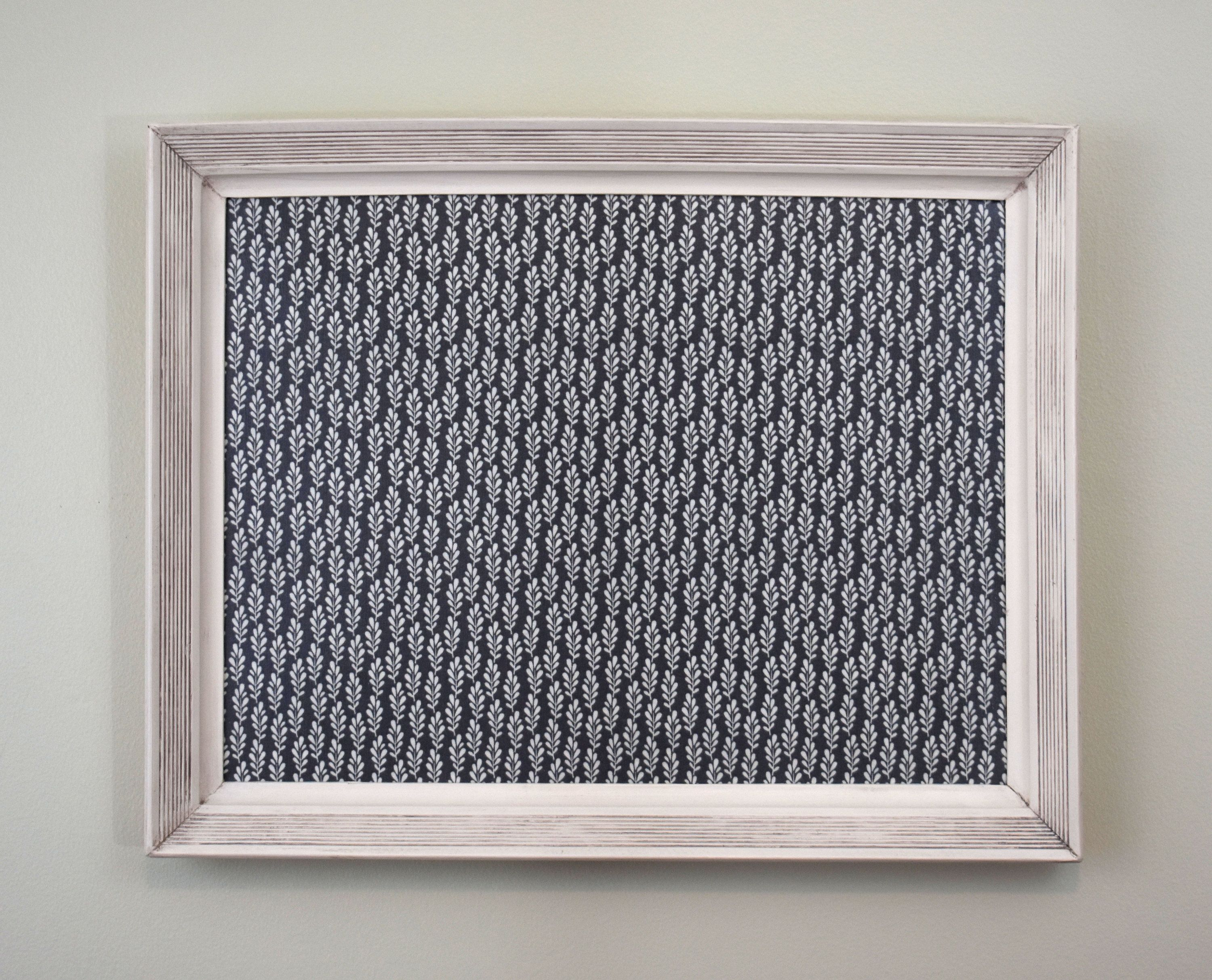 338fe16574c08 White Magnet Board with Gray Background - Magnetic Bulletin Board ...