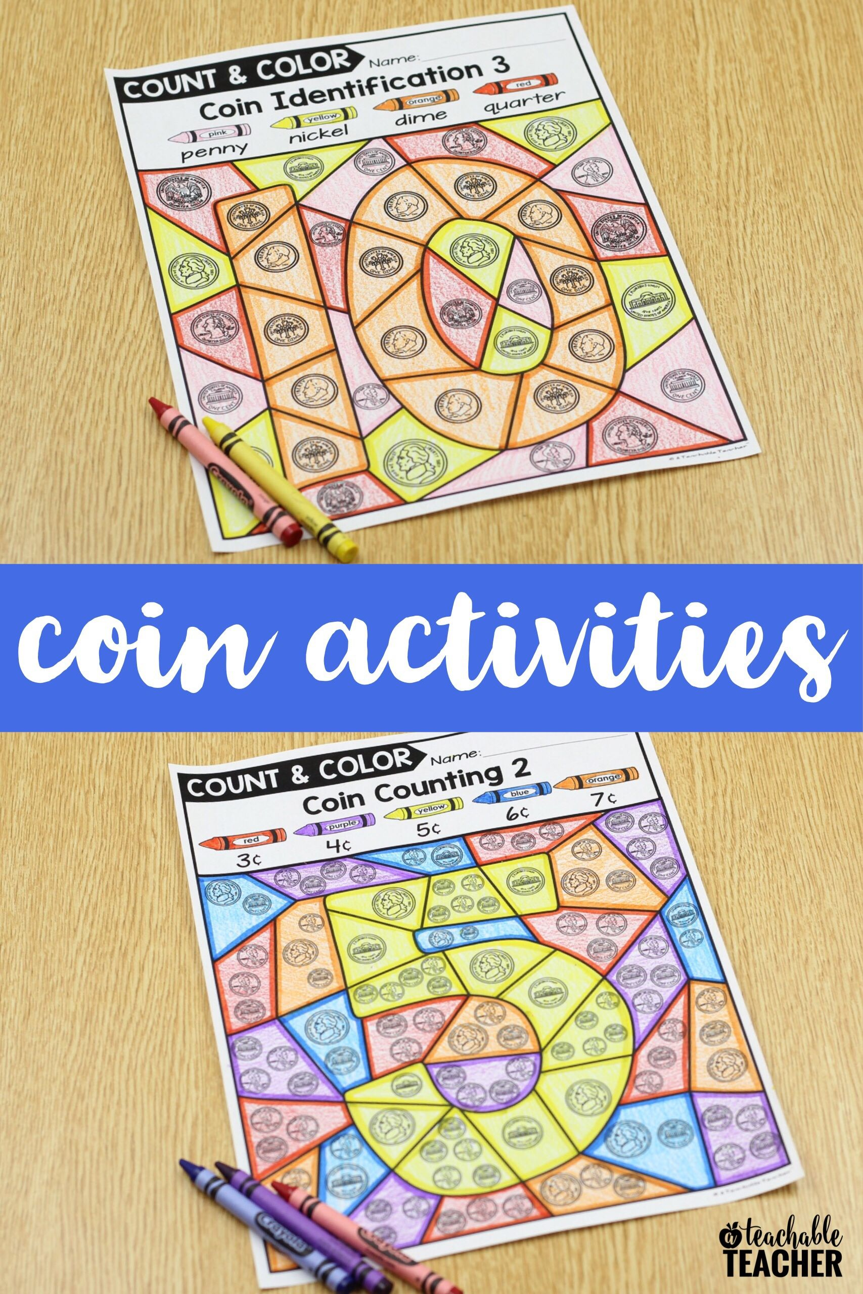 Color By Coin Activities