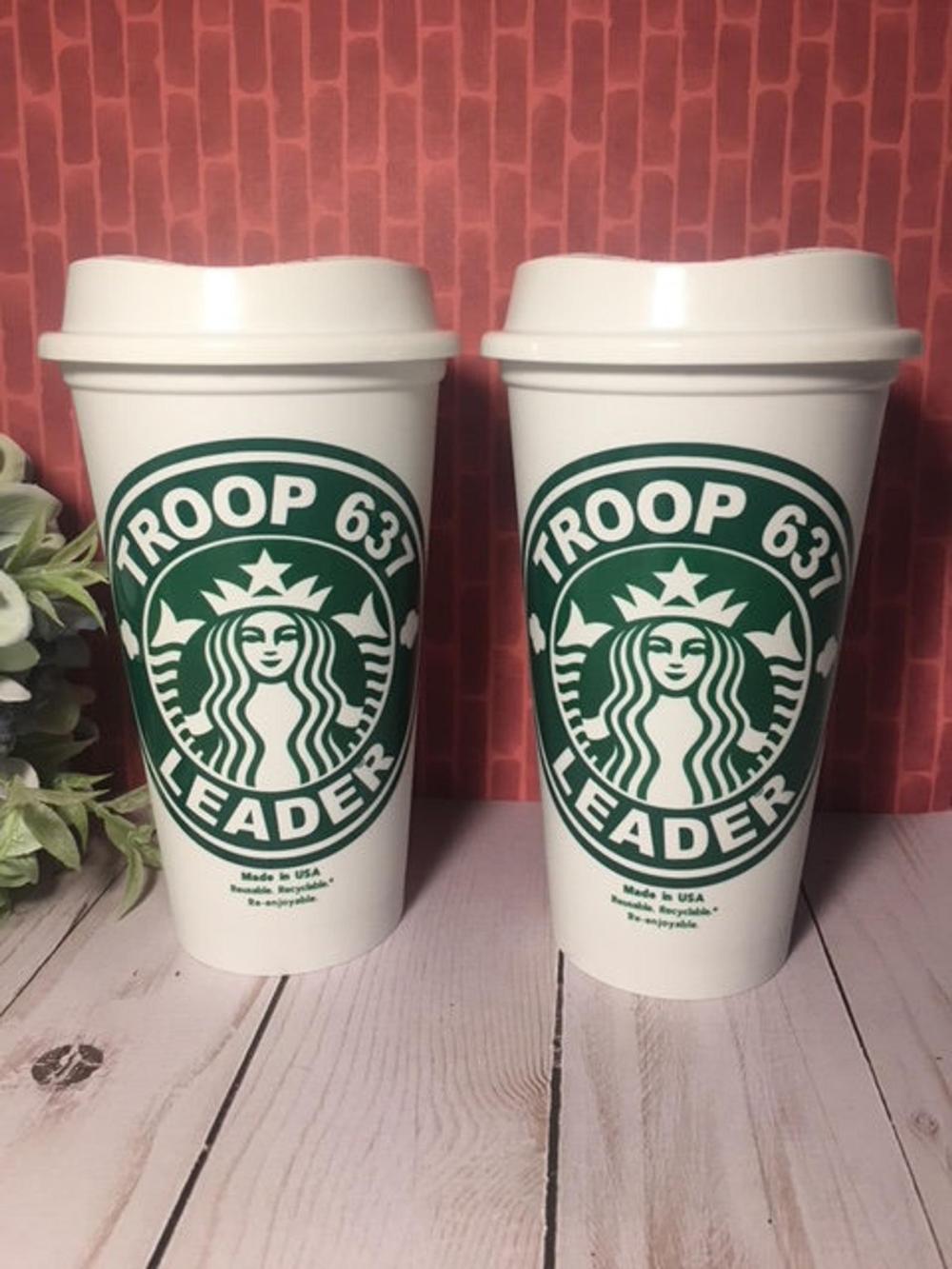 Starbucks Cup Sticker By Maryisirois White 3 X3 In 2021 Starbucks Art Starbucks Drawing Starbucks Wallpaper