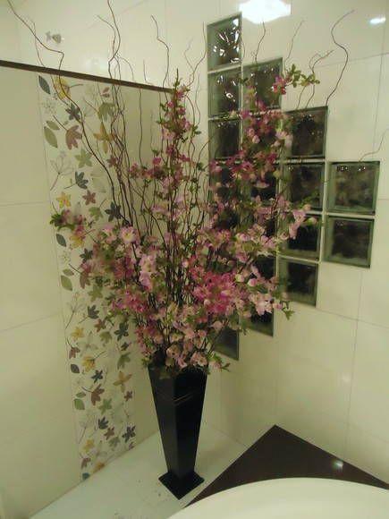 Arranjo Flores De Cerejeira Com Imagens Centro De Mesa Com