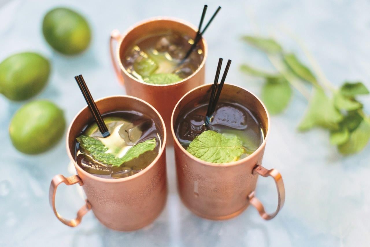 Enjoy Mule Mondays at Aqua Lounge every Monday night with a menu of 10 unique twists on this classic cocktail