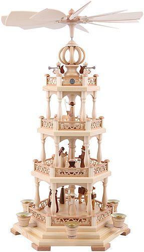 4-Tier Pyramid - The Christmas Story - 55 cm / 22 inch Christmas