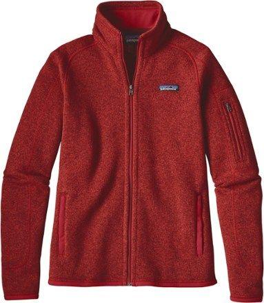 c9b927506a7 Patagonia Women s Better Sweater Fleece Jacket Ramble Red XS