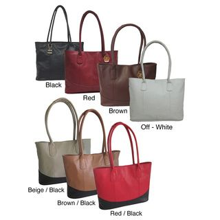 Amerileather Casual Leather Handbag Ping Great Deals On Tote Bags Brown Black Is My Favorite