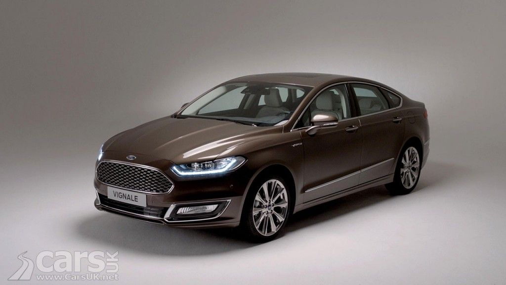 Production Version Of Ford Vignale Mondeo Revealed Ford Vignale