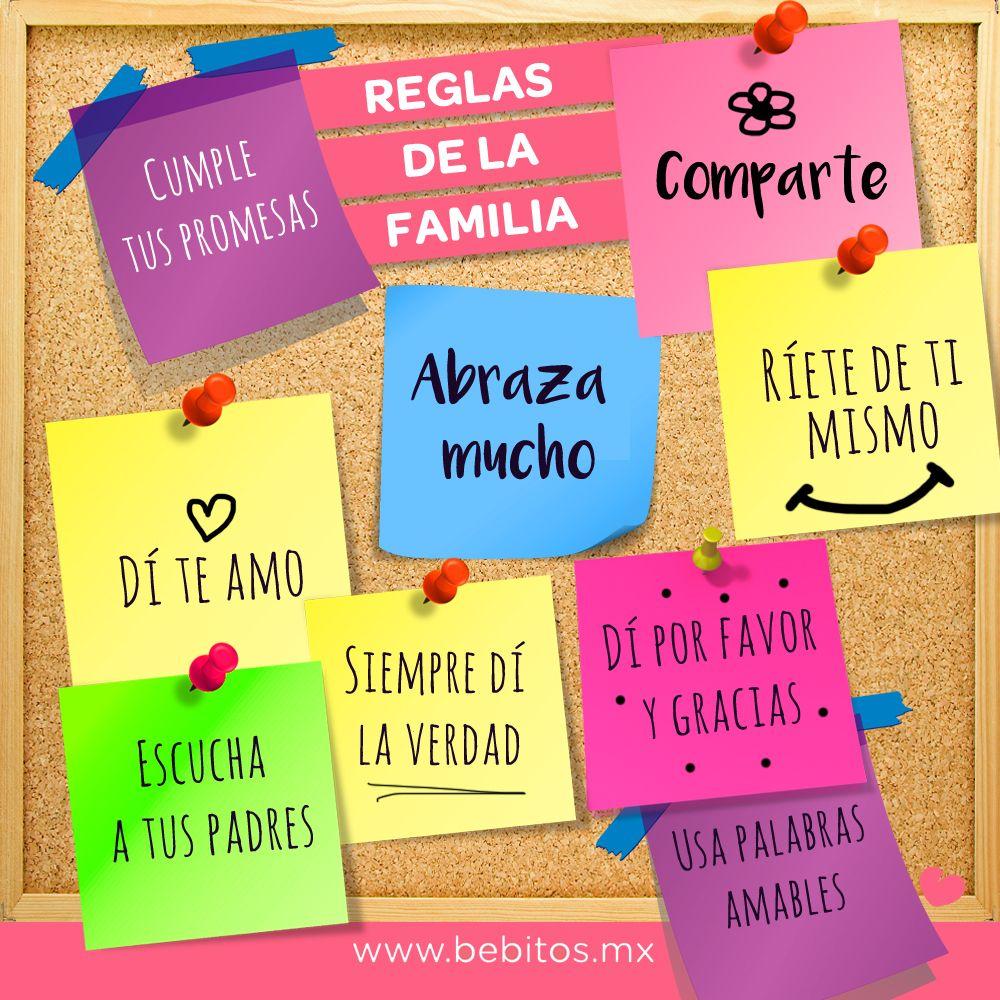 reglas en la familia