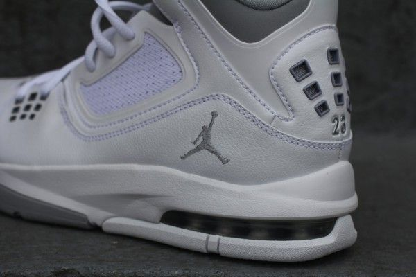 jordan 23 grey and white