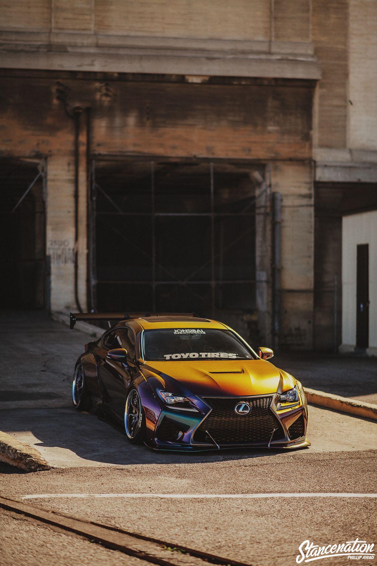 Chasing Passion Dana Balthasar S Pandem Lexus Rc F Super