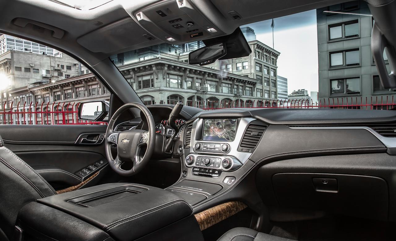 2015 Chevrolet Tahoe Ltz Interior Photo 599031 S