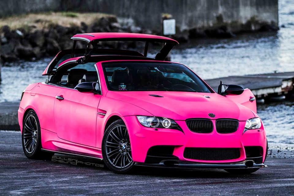 BMW M3 - pink   Top