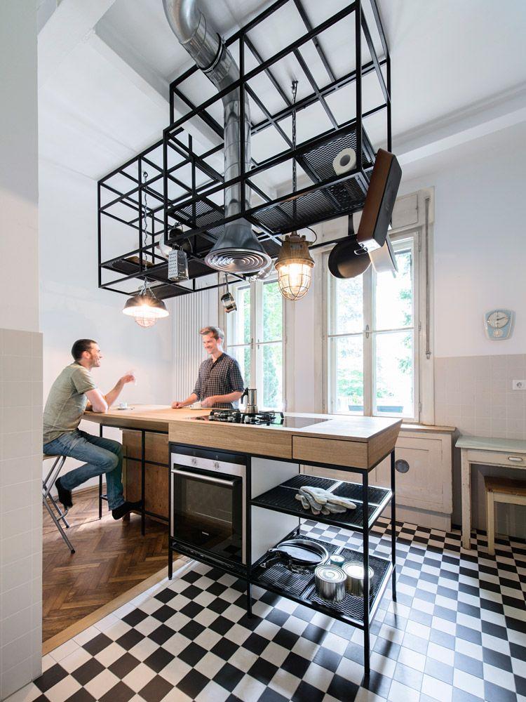 Sanierung Altbauwohnung in Wien durch IFUB Architekten | KITCHEN ...