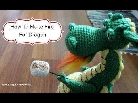 How To Make Fire For Dragon - YouTube | AMIGURUMIS 5 | Pinterest ...