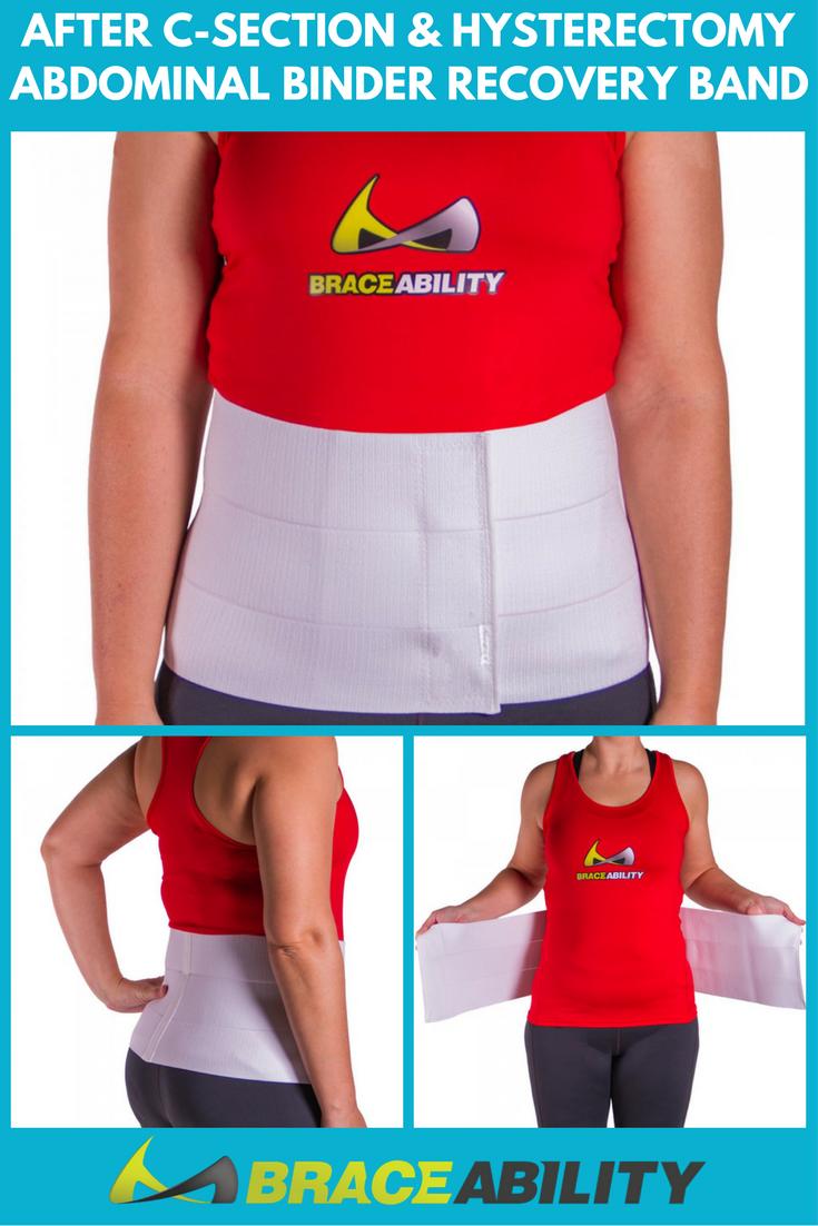 Hernia Repair Binder C Section Surgery Recovery Belt Obesity