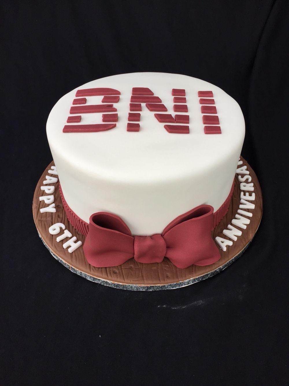 Business network ireland corporate 6 year anniversary cake