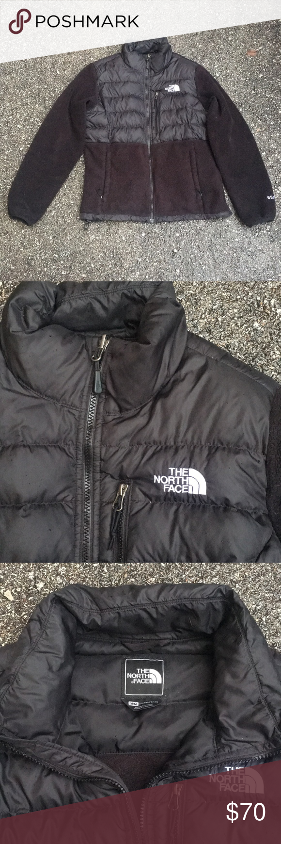 The North Face Black Denali Jacket Black North Face Jackets The North Face [ 1740 x 580 Pixel ]