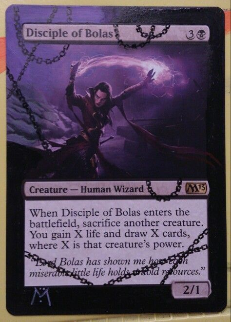 Mtg Magic The Gathering Custom Hand Painted Alter Of Diciple Of