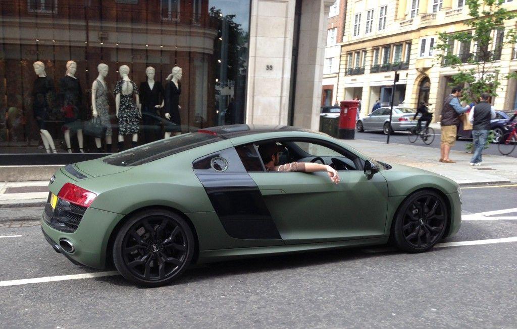Army Green Audi R8