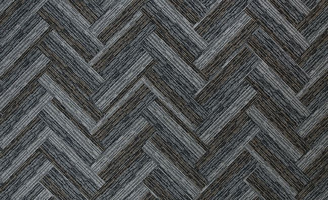 Link 12 X 36 Carpet Tile Color 02 Herringbone Installation