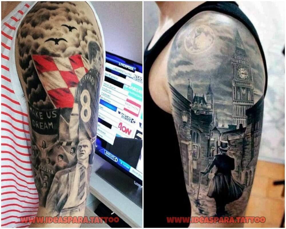 Tatuajes Media Manga Ideas Para Tatuajes De Hombre Tatuajes