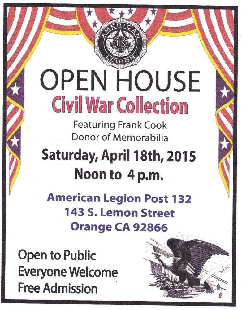 Orange Post 132 Has A Wonderful Civil War Collection