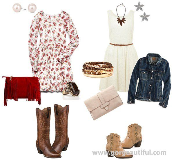 Western Themed Wedding Guest Outfits