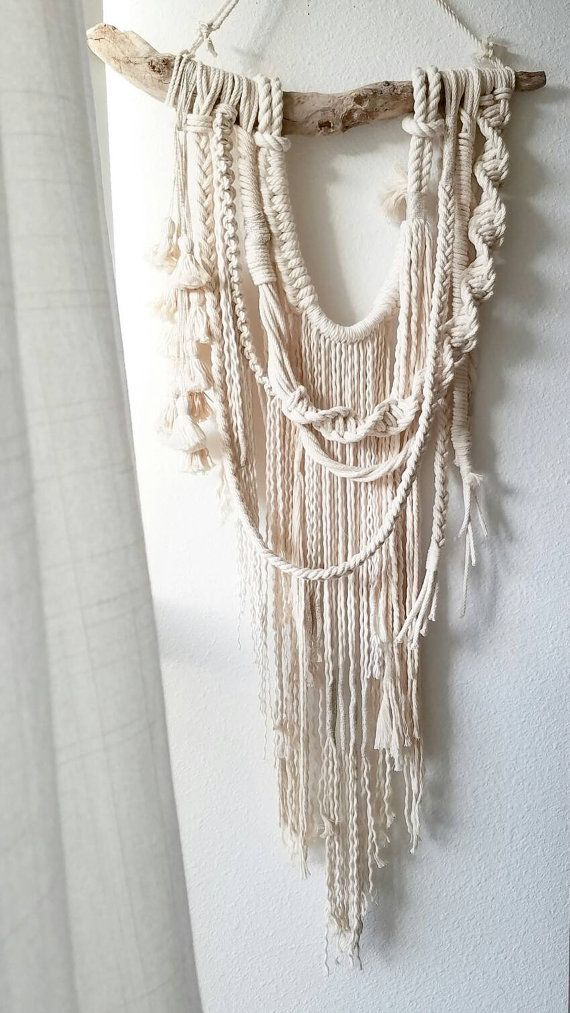 macrame wall hanging modern macrame fiber art textiles