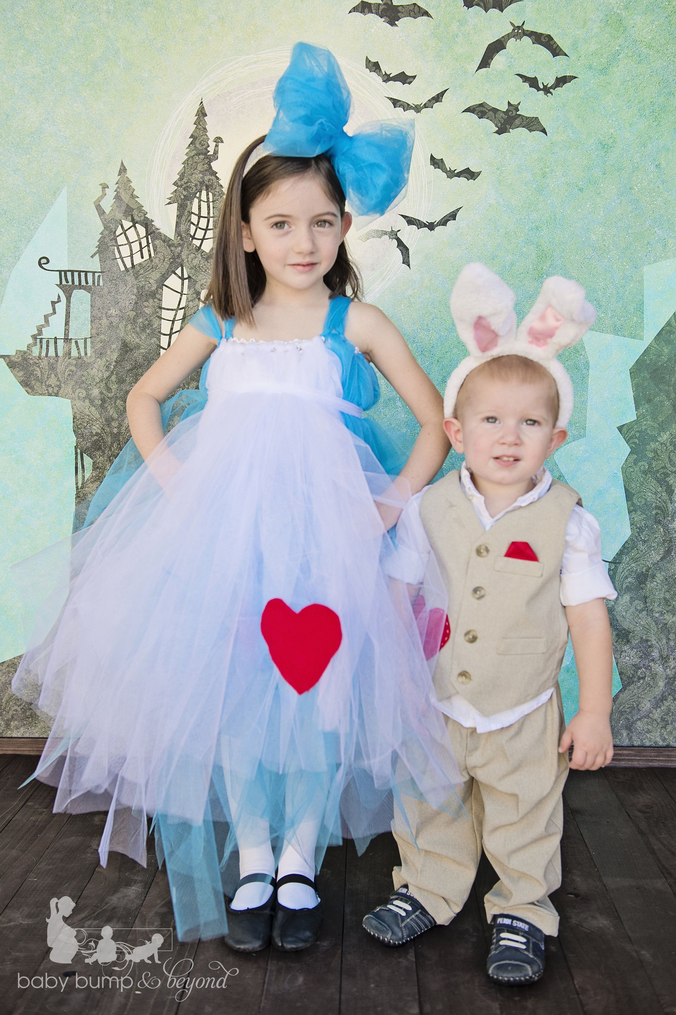 DIY Alice in Wonderland Costumes Homemade Halloween