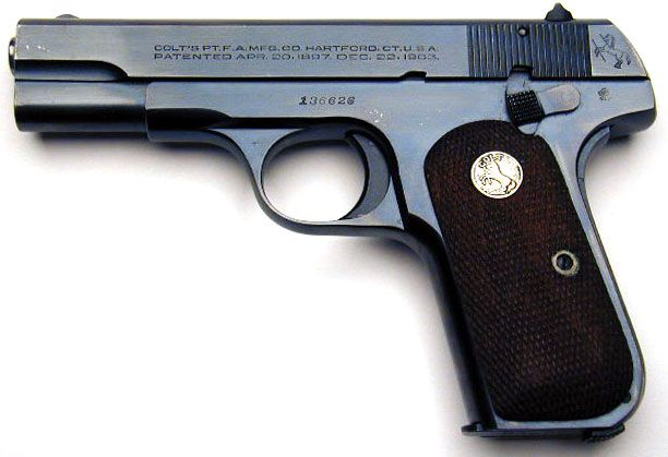 Colt Model M  380 serial number 136626 - An exceptional Model M  380