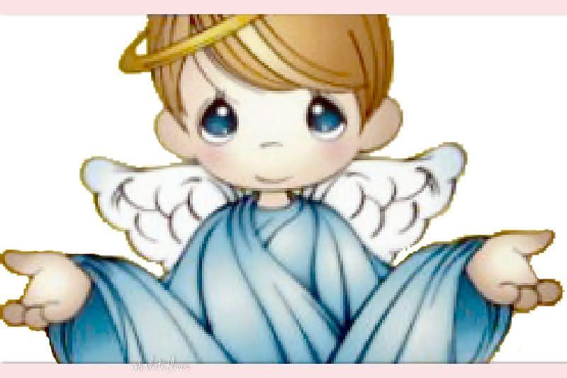 angeles para bautizo de niña vector - Buscar con Google