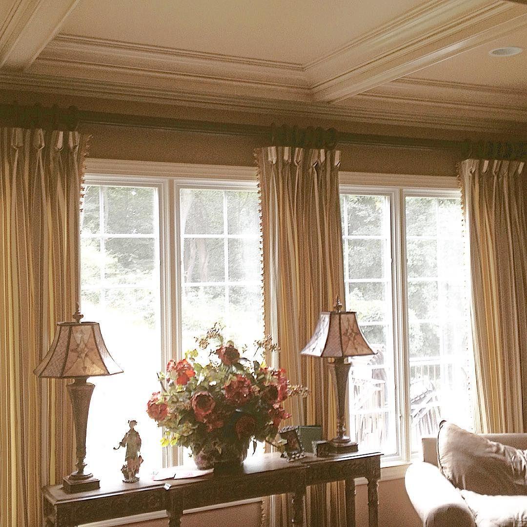 Window Treatment Ideas For 3 Windows In A Row Window Treatments