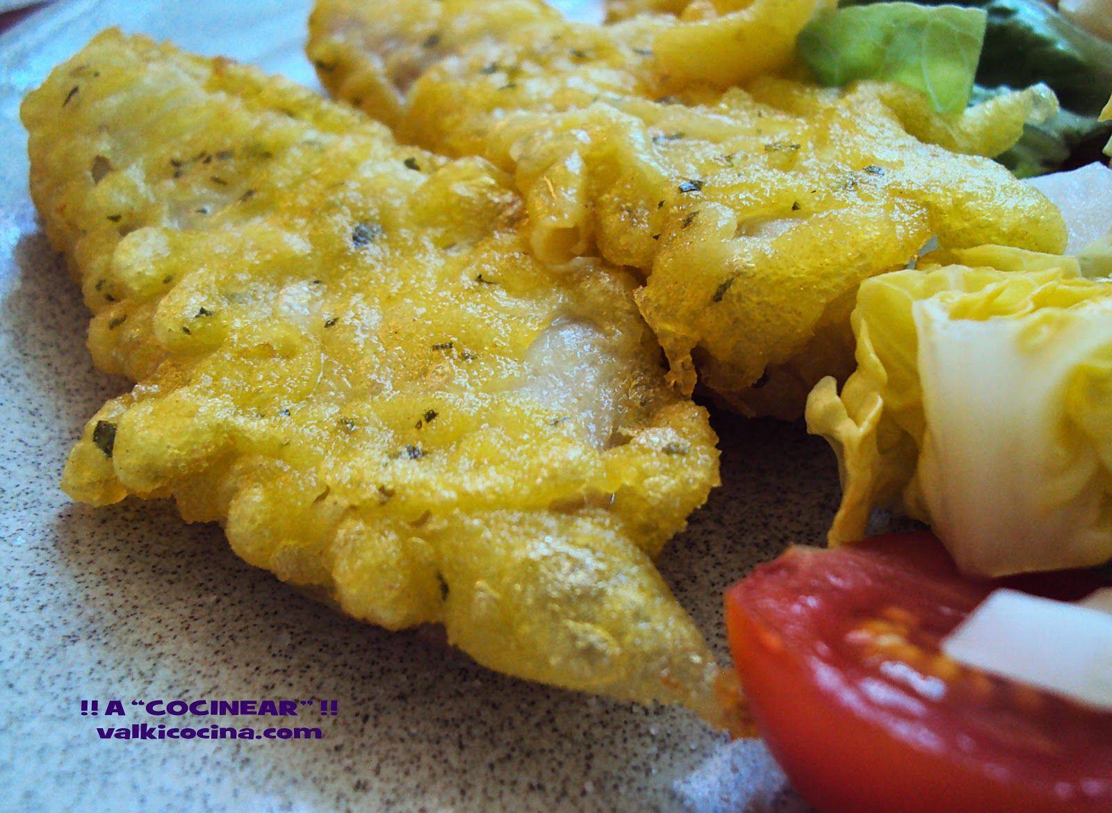 A COCINEAR!!: frutos del mar Rosada en tempura Rosada, Tempura ...