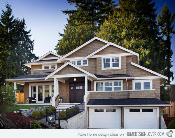 20 Traditional Architecture Inspired With Attached Garages Home Design Lover Architectural Inspiration Traditional Architecture House Design