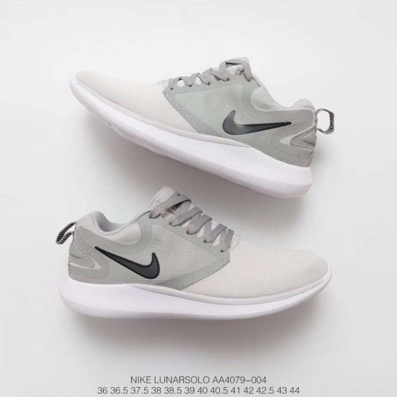 Simple All Match Nikelunarsolo Sport Unisex Leisure Shoe Breathable Lightweight Shock Absorber Trainers Shoes Sport Shoes Discount Nike Shoes Nike Sports