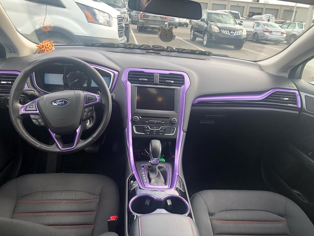Look at this mod on this Ford Fusion 👀 regram via
