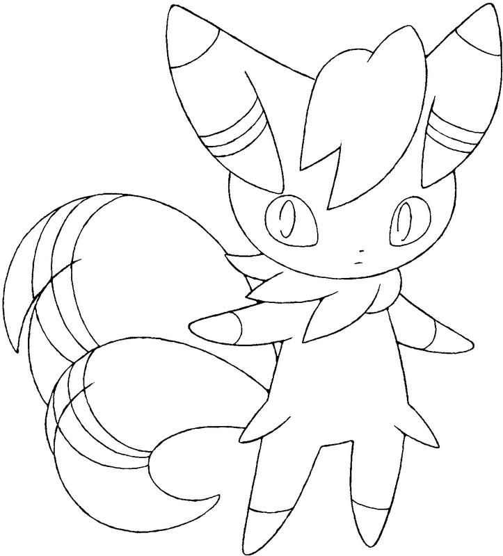 coloring pages pokemon meowstic drawings pokemon