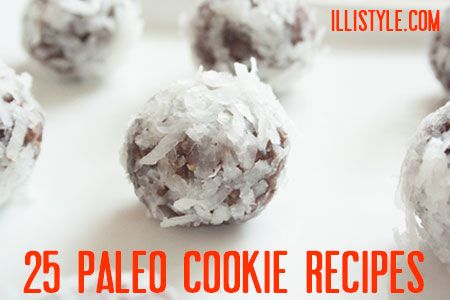 25 Paleo Cookie Recipes - illi style