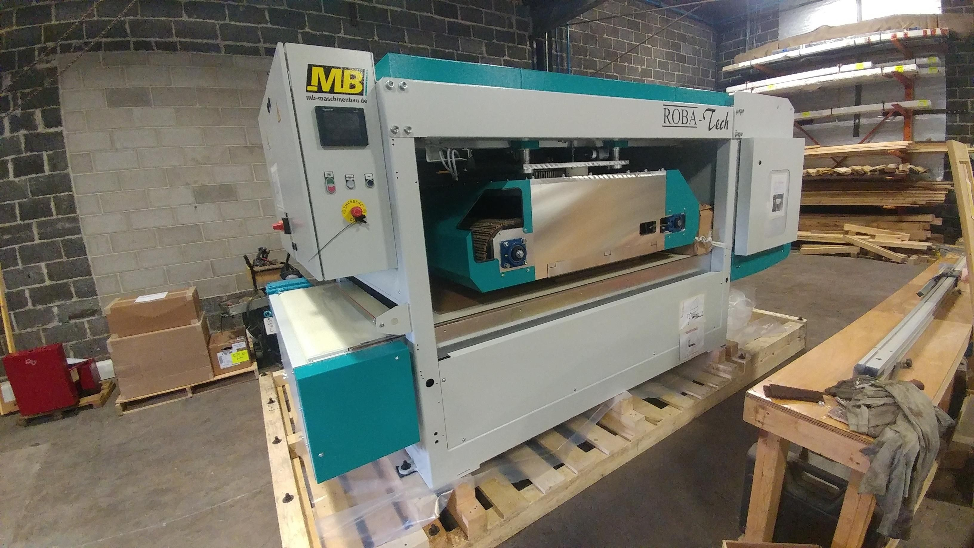 New Mb Robatech Brush Sander In Stock At Hermance Machine For Quick Delivery Mb Robatech Brushsander Sander Surfacesandin Machine Home Appliances Sanders