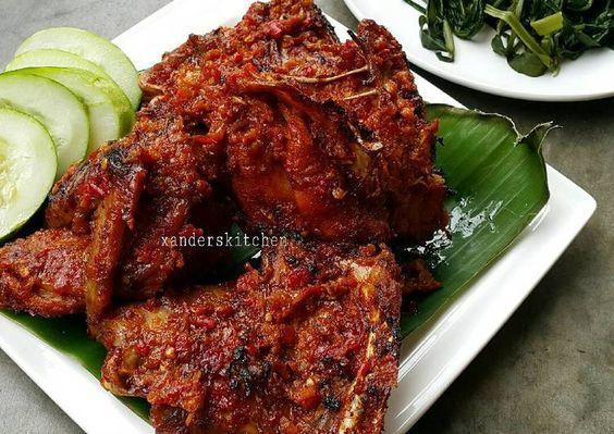 Resep Ayam Taliwang Oleh Xander S Kitchen Resep Resep Ayam Makanan Dan Minuman Resep Makanan