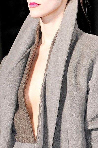 Precioso el corte de este abrigo !!!