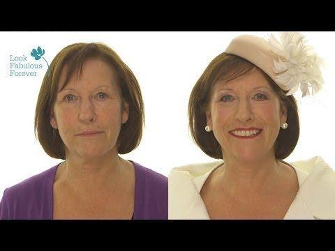 Make-up für ältere Frauen: Make-up für Gesicht, Augen und Lippen zu besondere…