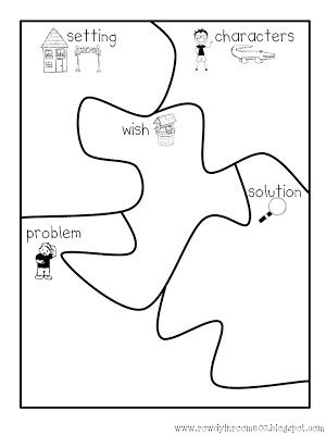 story elements puzzle story elements graphic organizers and graphic organizers reading. Black Bedroom Furniture Sets. Home Design Ideas