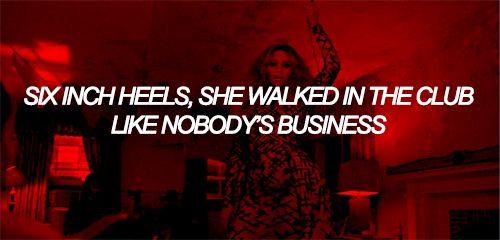 Beyoncé Six Inch Lemonade Lyrics