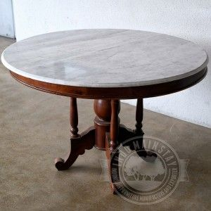 This Beautiful Antique Mahogany Dining Table Made Using Solid