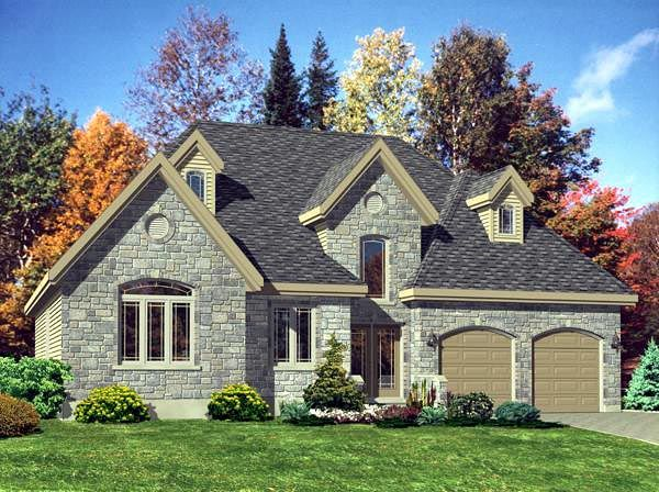 Victorian Style House Plan 48187 With 3 Bed 1 Bath 2 Car Garage Victorian House Plans House Plans European House