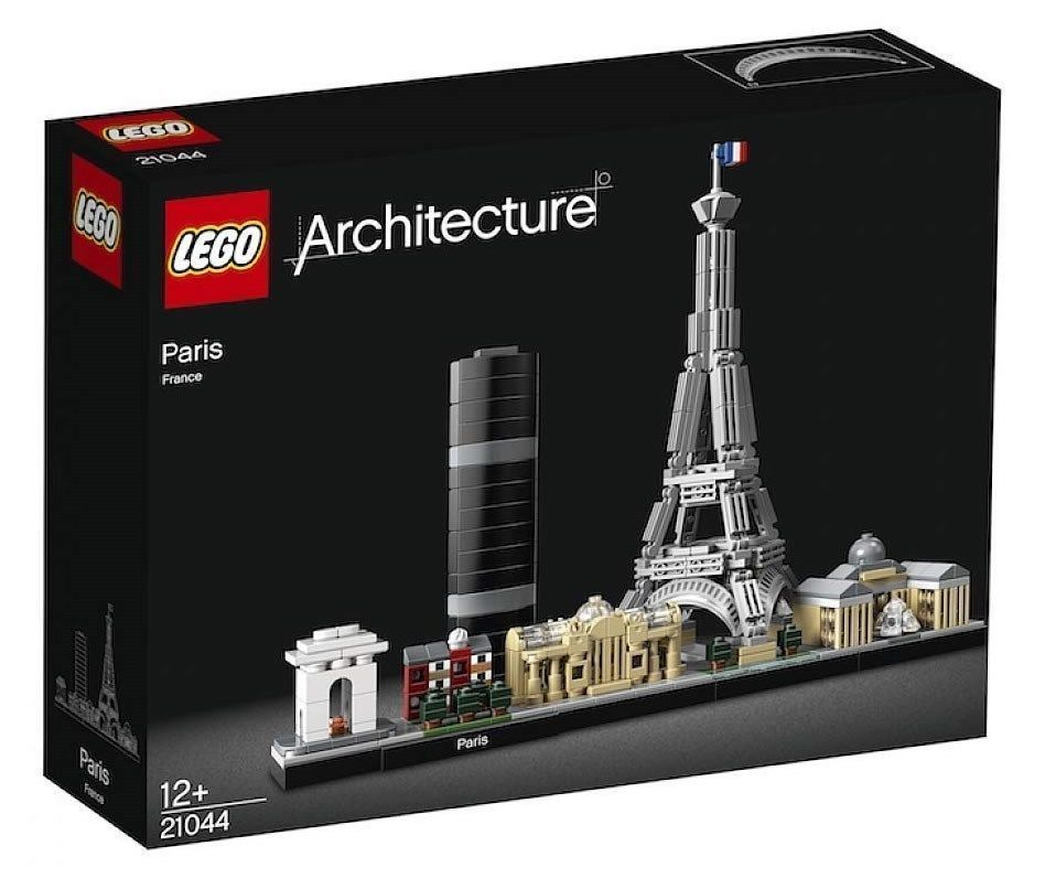 LEGO 21044 New On Hand Architecture Paris Factory Sealed Box NISB